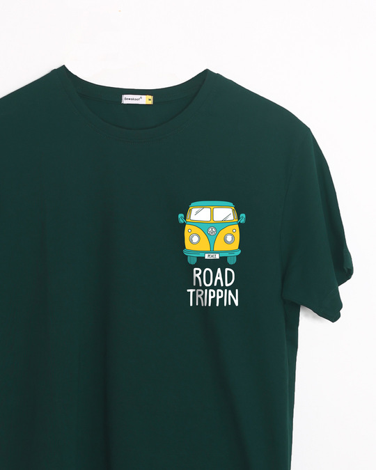 Shop Road Trippin Van Half Sleeve T-Shirt-Front