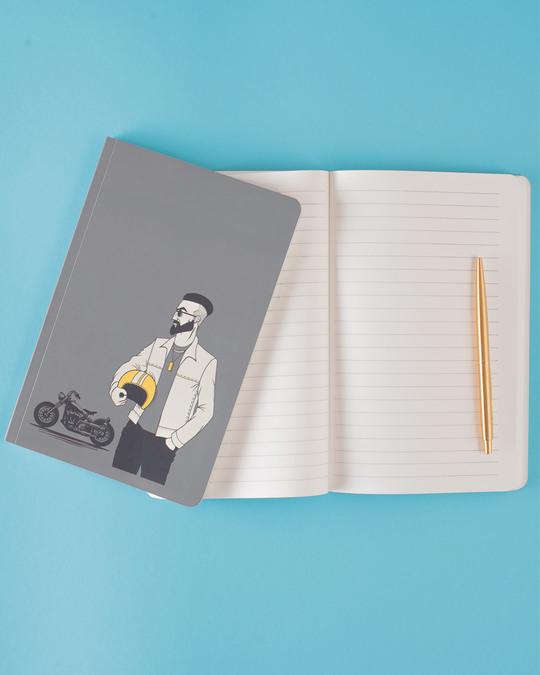 Shop Roadie Notebook-Back