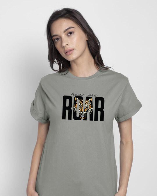 Shop Roar Boyfriend T-Shirt-Front