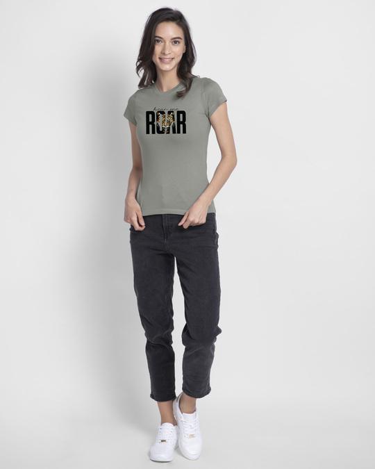 Shop Roar Half Sleeve T-Shirt-Design