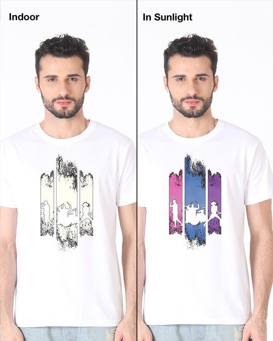 Shop Rock Band Half Sleeve T-Shirt (Sun Active)-Full