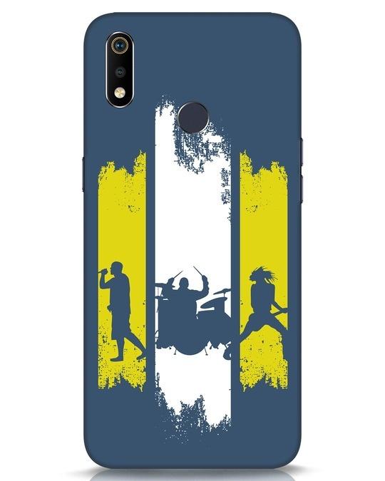 Shop Rock Band Realme 3i Mobile Cover-Front