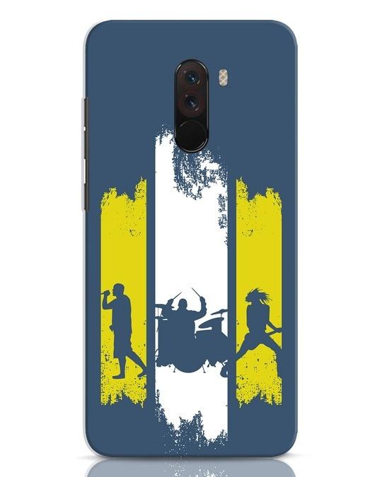 Shop Rock Band Xiaomi POCO F1 Mobile Cover-Front