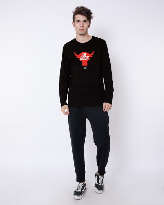 Shop Rock Bull Full Sleeve T-Shirt (WWEL)-Full