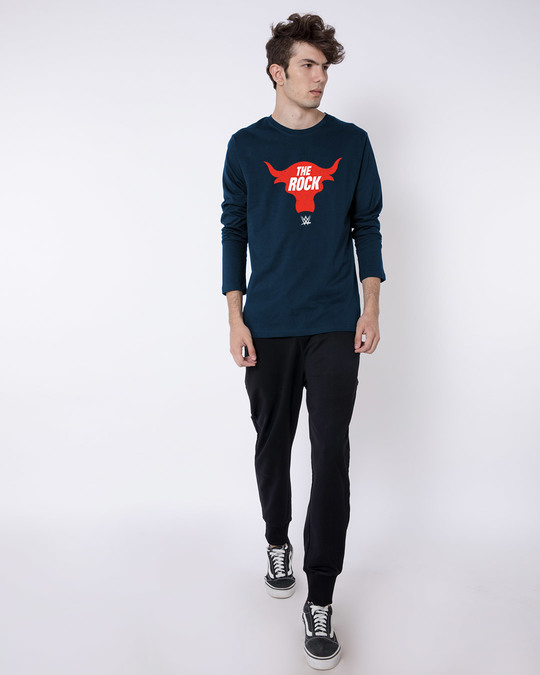 Shop Rock Bull Full Sleeve T-Shirt (WWEL)