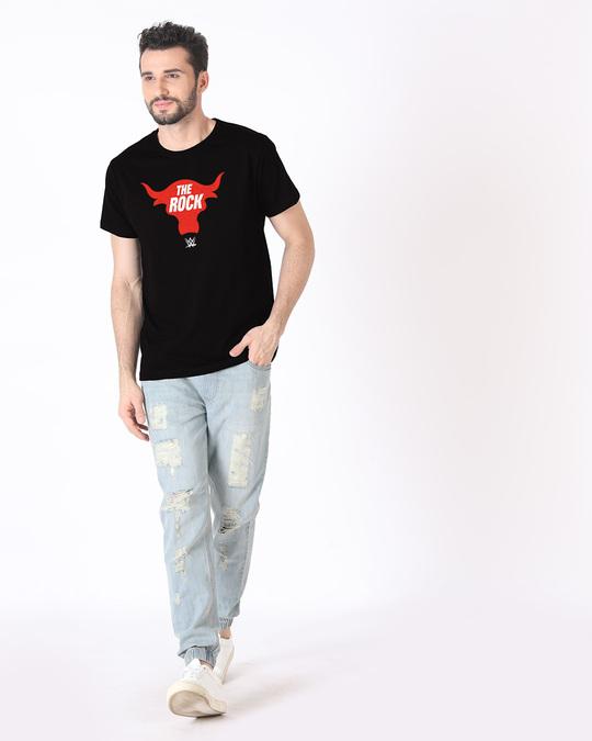 Shop Rock Bull Half Sleeve T-Shirt (WWEL)