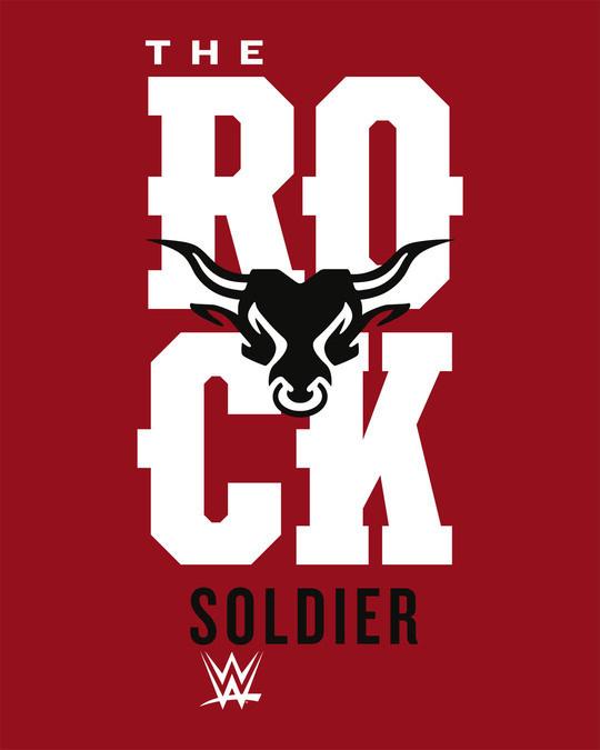 Shop Rock Soldier Full Sleeve T-Shirt (WWEL)