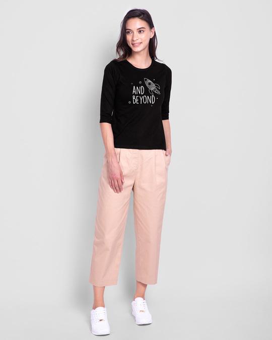 Shop Rocket Beyond Round Neck 3/4th Sleeve T-Shirt-Full