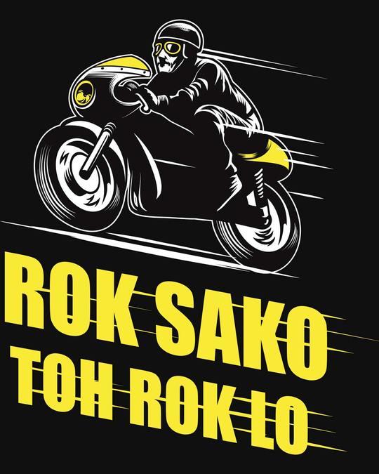 Shop Rok Sako Toh Rok Lo Bike Fleece Light Sweatshirt-Full