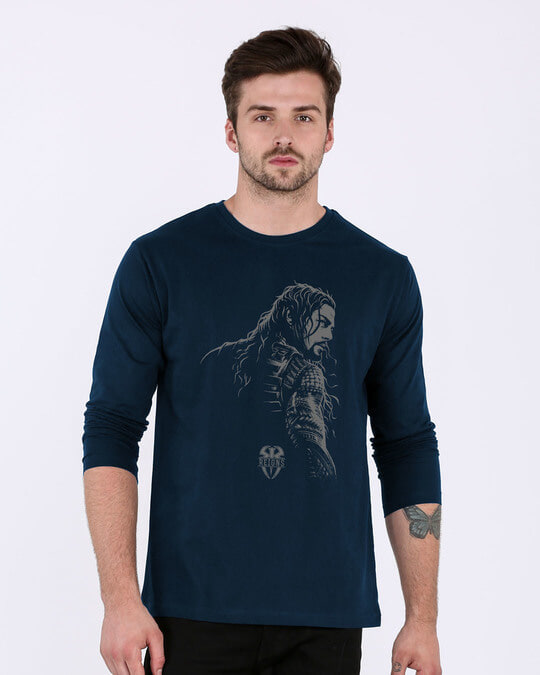 Shop Roman Full Sleeve T-Shirt (WWEL)-Front