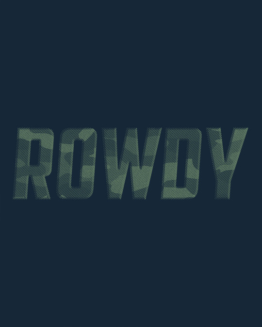 Shop Rowdy Basic Round Hem T-Shirt
