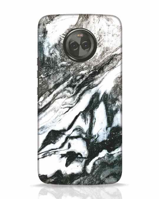 Shop Rugged Marble Moto X4 Mobile Cover-Front