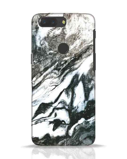 Shop Rugged Marble OnePlus 5T Mobile Cover-Front