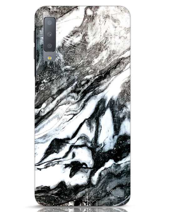 Shop Rugged Marble Samsung Galaxy A7 Mobile Cover-Front