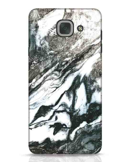 Shop Rugged Marble Samsung Galaxy J7 Max Mobile Cover-Front