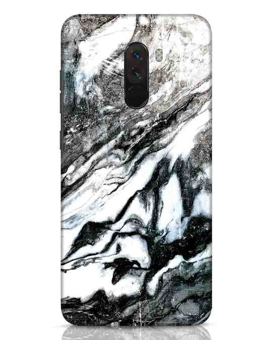 Shop Rugged Marble Xiaomi POCO F1 Mobile Cover-Front