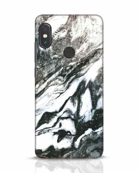 Shop Rugged Marble Xiaomi Redmi Note 5 Pro Mobile Cover-Front