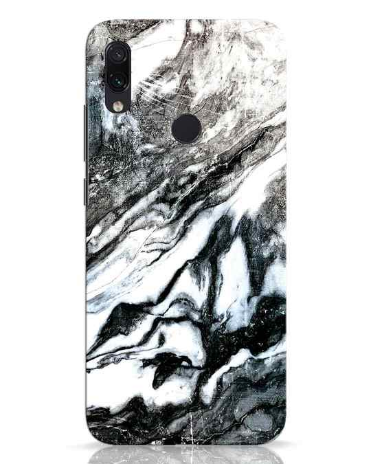 Shop Rugged Marble Xiaomi Redmi Note 7 Pro Mobile Cover-Front