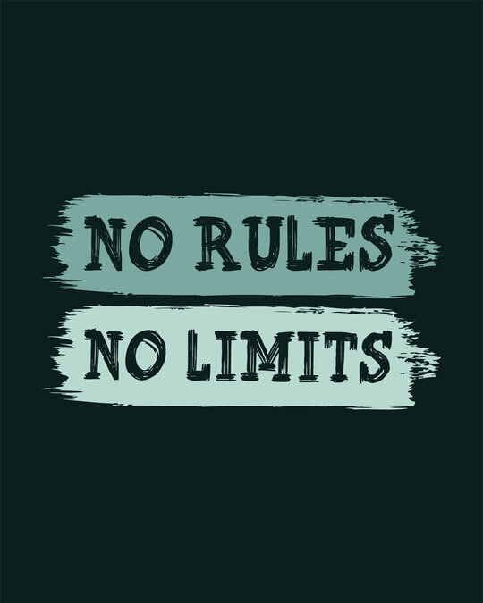 Shop Rules And Limits Full Sleeve T-Shirt