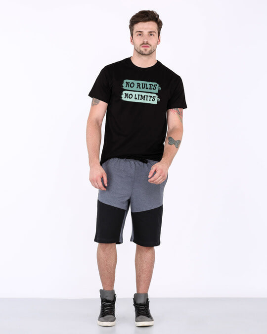 Shop Rules And Limits Half Sleeve T-Shirt