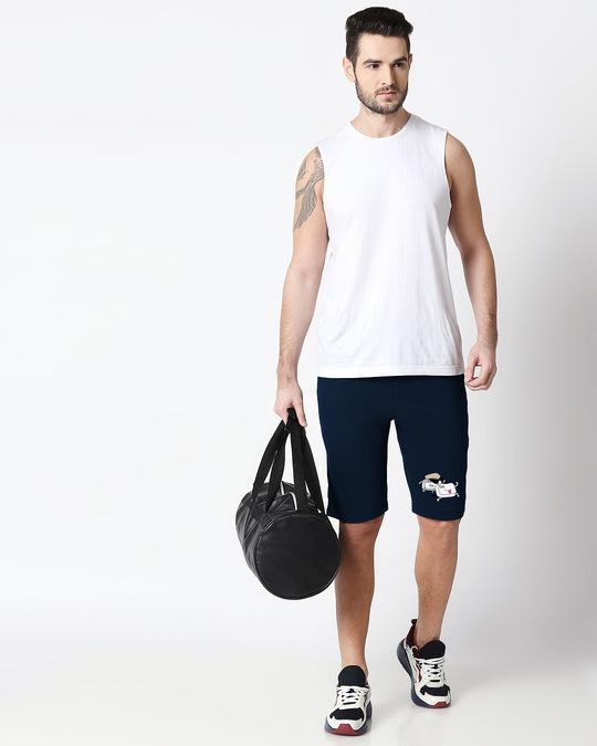 Shop Run & Esc Casual Shorts-Back