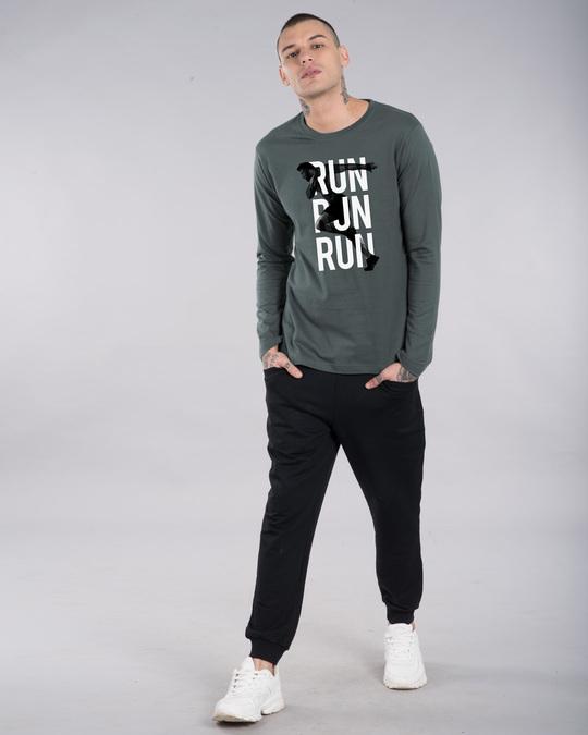 Shop Run Run Run Full Sleeve T-Shirt-Full