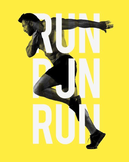 Shop Run Run Run Full Sleeve T-Shirt