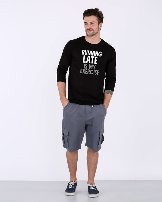 Shop Running Late Full Sleeve T-Shirt