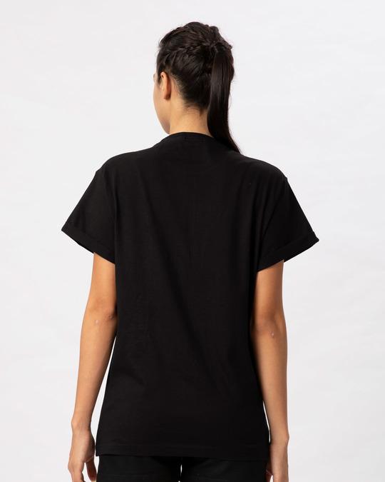 Shop Running Out Of Patience Boyfriend T-Shirt-Full