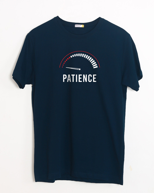 Shop Running Out Of Patience Half Sleeve T-Shirt-Front