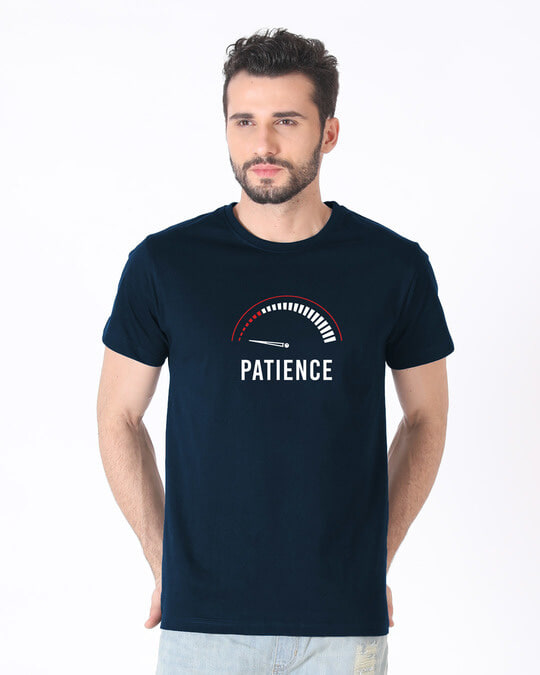 Shop Running Out Of Patience Half Sleeve T-Shirt-Back