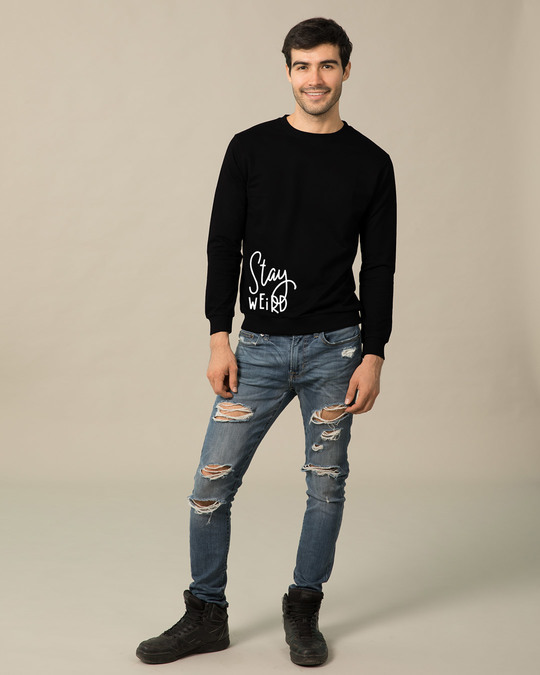 Shop Sada Ajeeb Raho Light Sweatshirt-Design