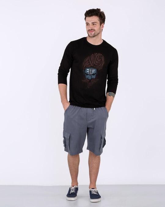 Shop Sadhu Baba Full Sleeve T-Shirt