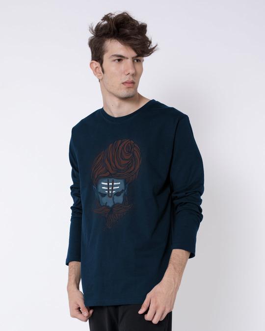 Shop Sadhu Baba Full Sleeve T-Shirt-Back