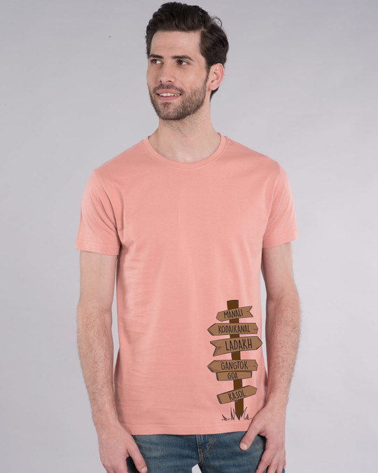 Shop Safarnama Half Sleeve T-Shirt-Back