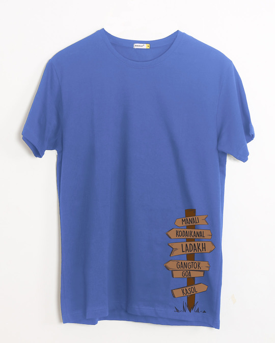 Shop Safarnama Half Sleeve T-Shirt-Front