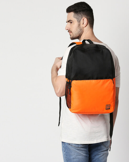 Shop Saffron Surf Laptop BackPack-Full