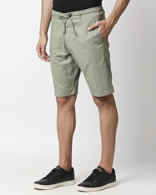 Shop Sage Green Comfort Shorts-Design