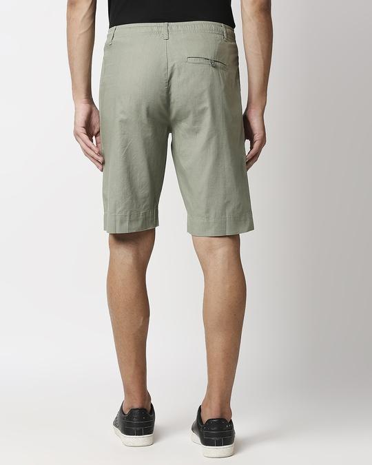 Shop Sage Green Comfort Shorts-Full
