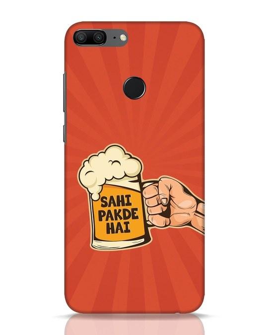 Shop Sahi Pakde Hai Huawei Honor 9 Lite Mobile Cover-Front