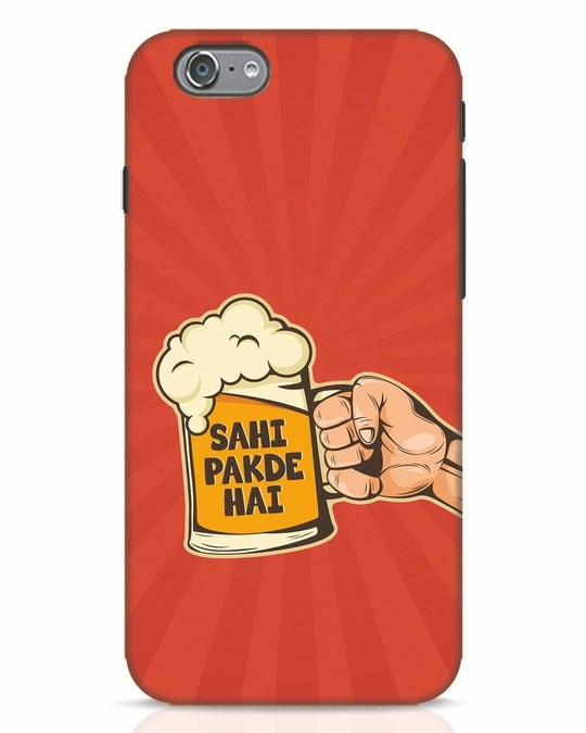 Shop Sahi Pakde Hai iPhone 6 Mobile Cover-Front