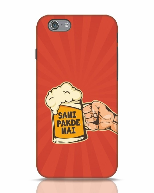 Shop Sahi Pakde Hai iPhone 6s Mobile Cover-Front