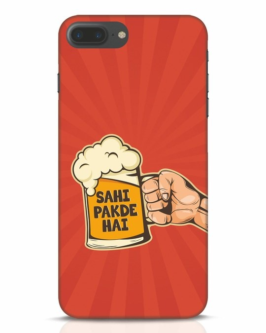 Shop Sahi Pakde Hai iPhone 7 Plus Mobile Cover-Front
