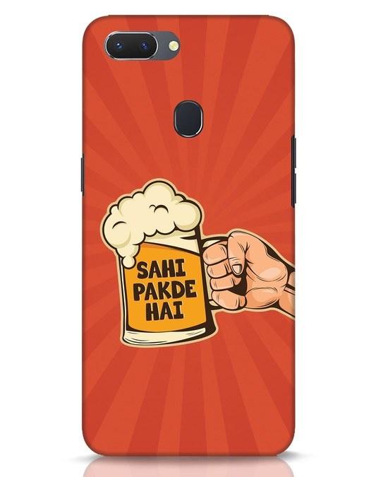 Shop Sahi Pakde Hai Realme 2 Mobile Cover-Front