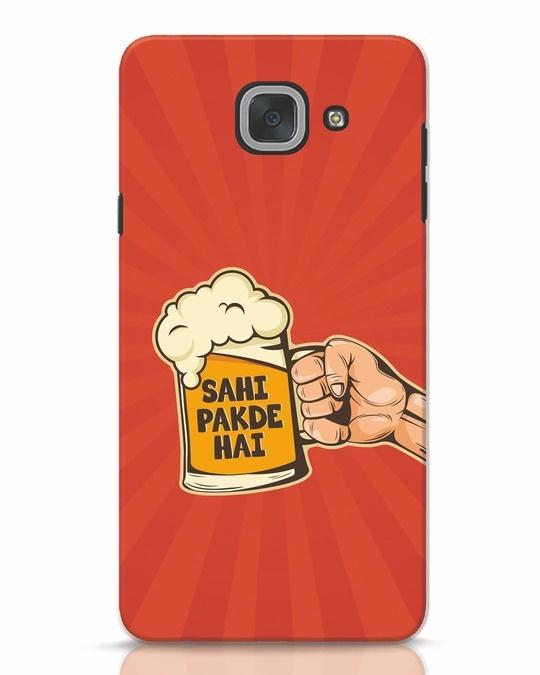 Shop Sahi Pakde Hai Samsung Galaxy J7 Max Mobile Cover-Front