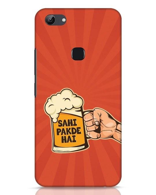 Shop Sahi Pakde Hai Vivo Y83 Mobile Cover-Front