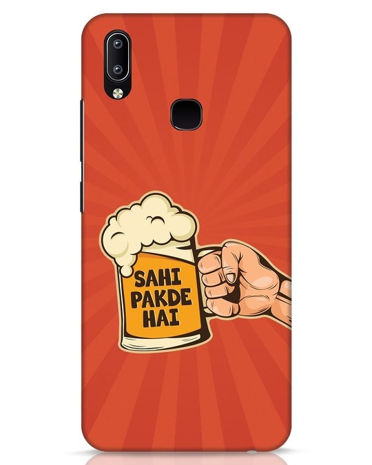 Shop Sahi Pakde Hai Vivo Y91 Mobile Cover-Front