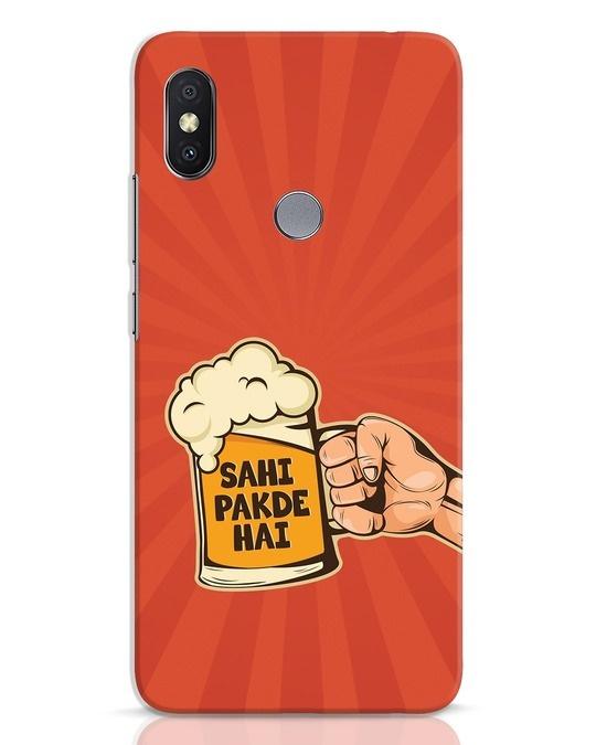 Shop Sahi Pakde Hai Xiaomi Redmi Y2 Mobile Cover-Front