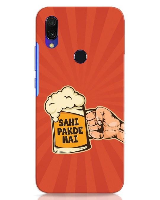 Shop Sahi Pakde Hai Xiaomi Redmi Y3 Mobile Cover-Front