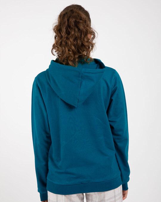 Shop Sailor Blue New Fleece Hoodies-Design